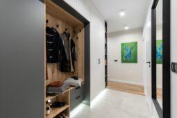 Moderne New Yorker vægge og ståltrapper hos First Floor CPH